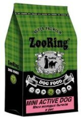 ZOORING Mini Active Dog Veal сухой для взрослых собак Мелких пород МОЛОДЫЕ БЫЧКИ / РИС (700гр)