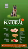 GUABI NATURAL Senior Medio / Grande Frango/Arroz (Senior Medium / Large Chicken/Rice) 15 kg.